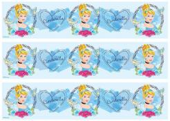 Cinderella cake decals photo cakes stickers