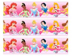 Disney Princess cake decals photo cakes stickers
