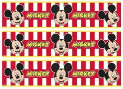 Mickey Mouse cake decals photo cakes stickers