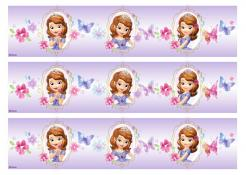 Sofia the First cake decals photo cakes stickers