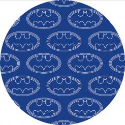 Batman cake topper edible image cake sticker decal