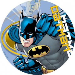 Batman edible cake topper cake decal photo cakes comic book