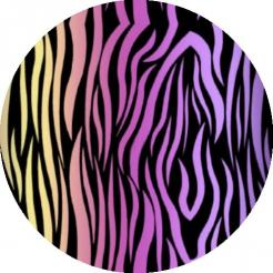 zebra cake sticker edible image cake decals toppers