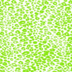 Leopard green cake sticker edible image cake decals toppers