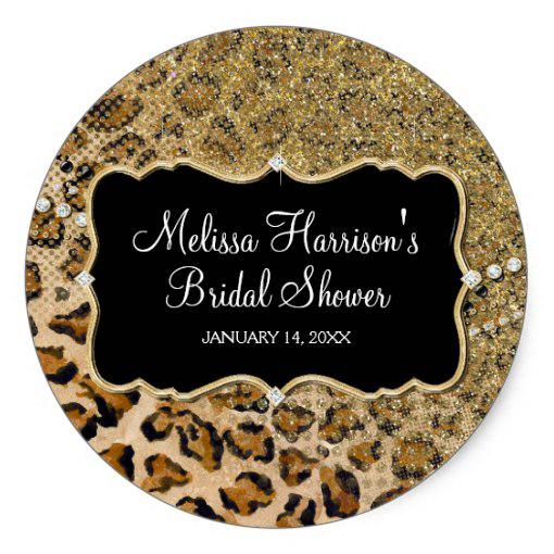 Edible images photo cakes cake stickers leopard print for Animal print edible cake decoration