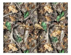 Camo Real Tree cake sticker edible image cake decals toppers